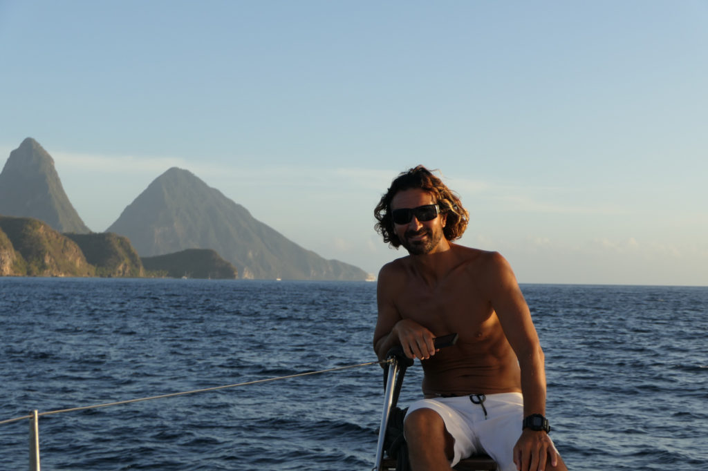 Pitons in sight