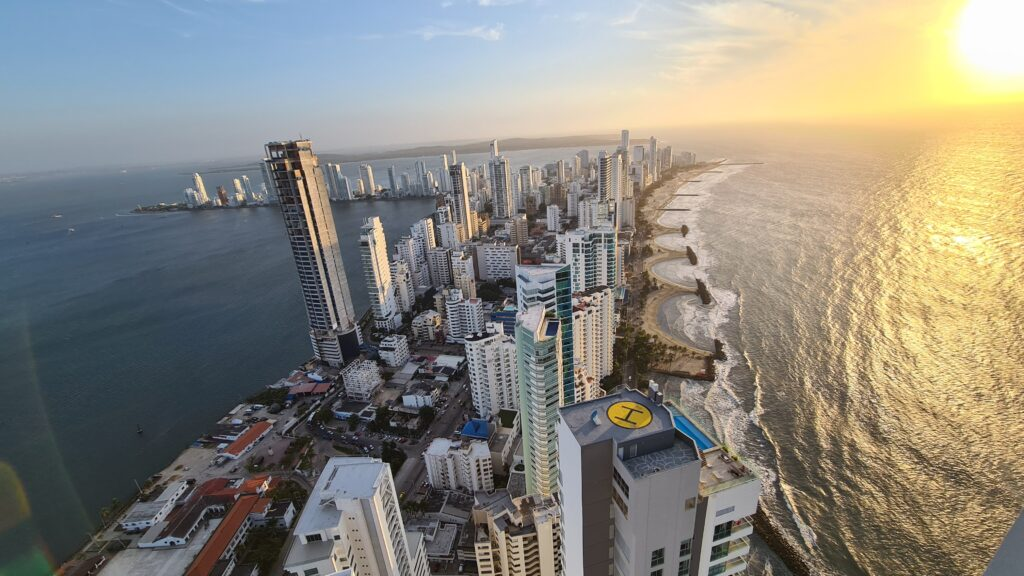Cartagena from the top